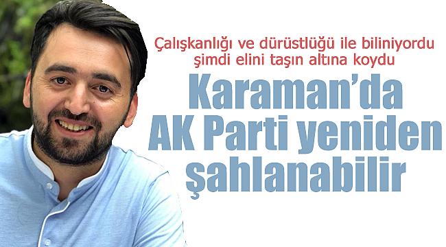 Mehmet Sami Şahin elini taşın altına koydu