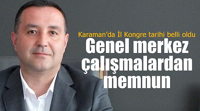 MHP'nin Karaman İl Kongre tarihi açıklandı