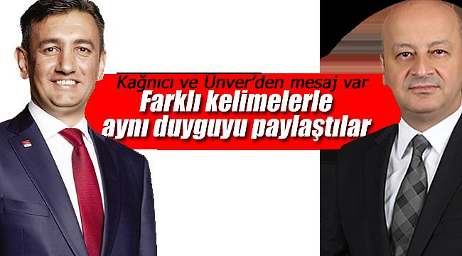 Mustafa Cem Kağnıcı ve İsmail Atakan Ünver farklı kelimelerle aynı duyguyu paylaştı