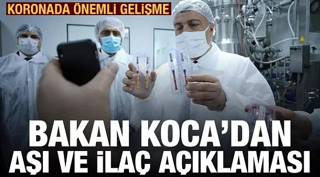 Türk koronavirüs aşısında önemli açıklama