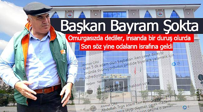 Başkan Mehmet Bayram Şokta!