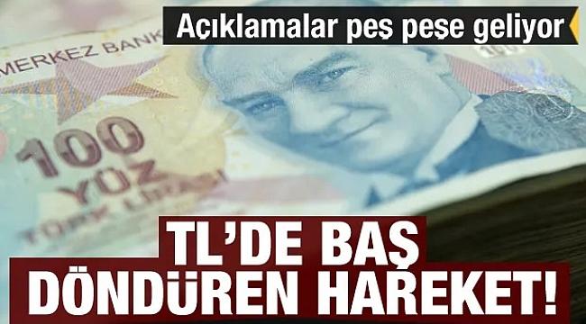 Türk lirası hareketlendi, değer kazanıyor