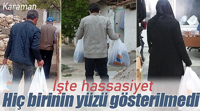 Karaman'da Günışığı derneği 350 haneye girdi