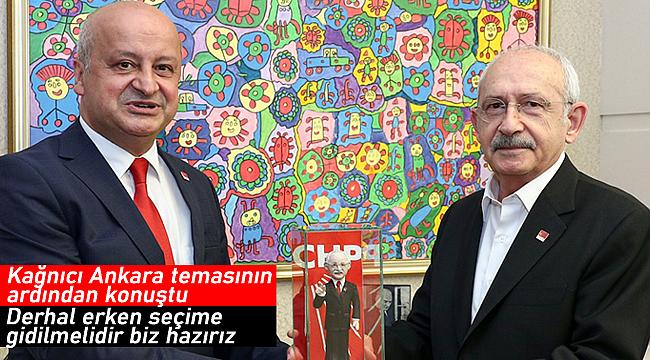 CHP Karaman heyetinden Ankara'ya çıkarma