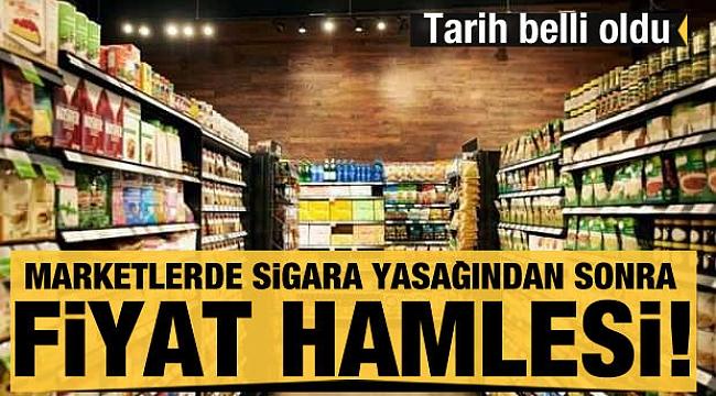 Marketlerde sigara yasağından sonra fiyat hamlesi!