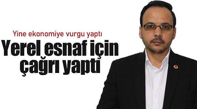 Yasim Koz'dan yerel esnaf için çağrı