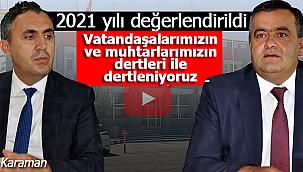 Karaman'da 2021 yılı yatırımları ele alındı