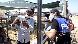 Karaman'da kurban satıcılarına polisten sahte para uyarısı